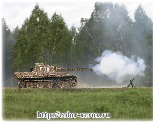 Часть vii немецкий танк пантера panzer t v