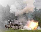 День танкиста на кубинском танковом