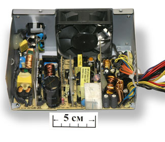 Описание: схема блока питания компьютера Acer Veriton.